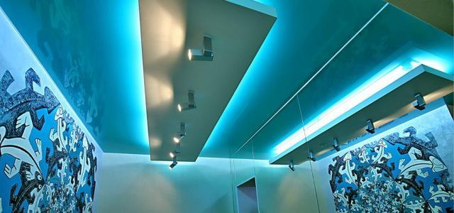 отделка потолка гипсокартоном в Одинцово ремонт потолка в квартире